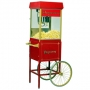 popcorn with metal cart - web