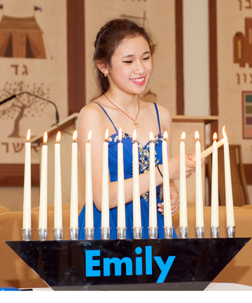 Bar mitzvah candle lighting ceremony candle holder rental rockville candlelightingh4d7e3e1c4ef9cg aloadofball Image collections