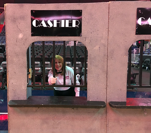 cashier cage casino night props props and decor money booth money cage cashier booth ticket booth ticket counter casino props maryland
