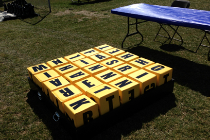 Giant Oversized Word Scramble Boggle Board Game For Rent