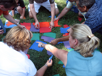 giant puzzle  Giant Puzzle - Team Building - Corporate Olympics - Field Games - MD ...
