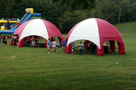Rent Inflatable Dome Tent Inflatable Domes Inflatable Tent Rentals Washington Dc Area