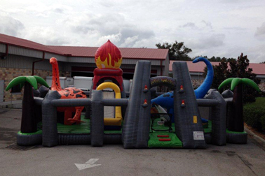 Jurassic Adventure Combo Dinosaur Bounce Rental Maryland DC MD