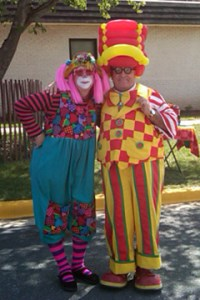 Clowns at St Patricks - web