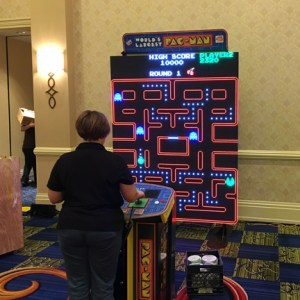 worlds largest pac man - web
