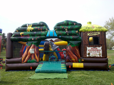 Safari Experience Combo Bounce Rental Maryland DC MD VA